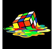 Rubik's Cube Cool Geek Photographic Print