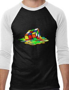 Rubik's Cube Cool Geek Men's Baseball ¾ T-Shirt