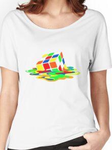 Rubik's Cube Cool Geek Women's Relaxed Fit T-Shirt