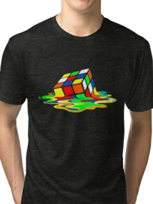 Rubik's Cube Cool Geek Tri-blend T-Shirt