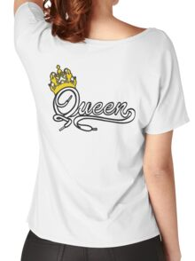 Queen (White) The Hers of the His and Hers Women's Relaxed Fit T-Shirt