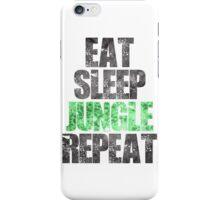 Eat Sleep Jungle Repeat iPhone Case/Skin