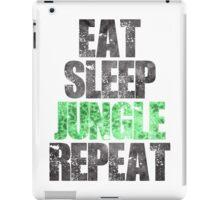 Eat Sleep Jungle Repeat iPad Case/Skin