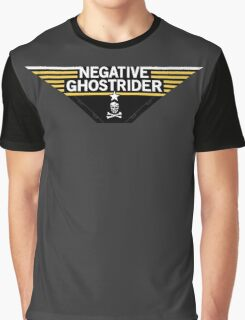 Negative Ghostrider the Pattern is Full - Jolly Roger ed. Graphic T-Shirt
