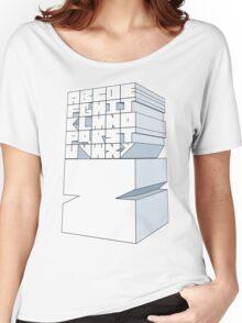 Z's Alphabet Women's Relaxed Fit T-Shirt