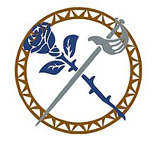 La Rosa Azul [ROSE] Guild Photographic Print