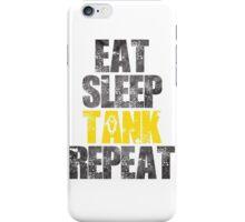 Eat Sleep Tank Repeat iPhone Case/Skin