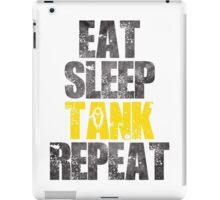 Eat Sleep Tank Repeat iPad Case/Skin