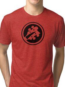 Bass Player Custom Color Tri-blend T-Shirt