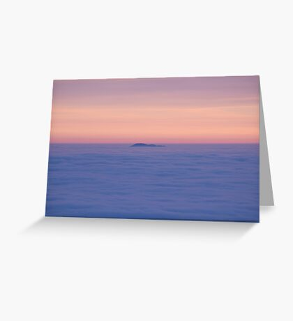 Mountain top Greeting Card