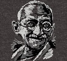 Ghandi Mens V-Neck T-Shirt