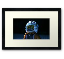 Lego Rebel Pilot Framed Print