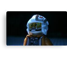 Lego Rebel Pilot Canvas Print