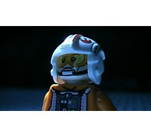 Lego Rebel Pilot Photographic Print