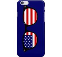 American glasses iPhone Case/Skin