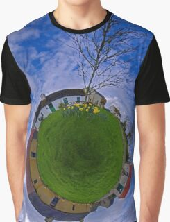 Hanna's Close, on a Sunny Day in County Down Graphic T-Shirt