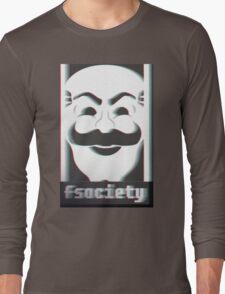 MR. ROBOT F*CK SOCIETY Long Sleeve T-Shirt