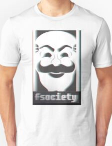 MR. ROBOT F*CK SOCIETY Unisex T-Shirt