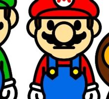 Mario & Luigi Sticker