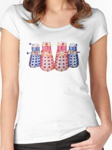 Exterminate ! Women's Fitted Scoop T-Shirt