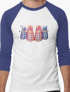 Exterminate ! Men's Baseball ¾ T-Shirt