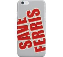 Save Ferris Classic Tee iPhone Case/Skin