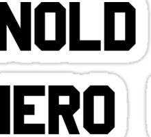 Arnold Is Numero Uno – Arnie, Schwarzenegger Sticker