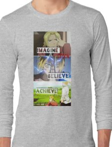 manga -full metal alchemist- Long Sleeve T-Shirt