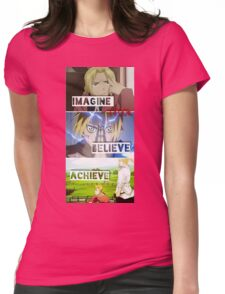 manga -full metal alchemist- Womens Fitted T-Shirt