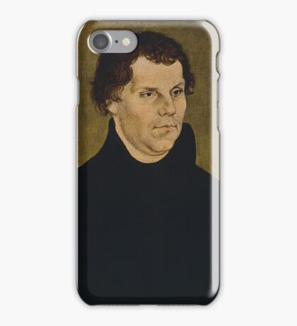 Martin Luther Painting iPhone Case/Skin