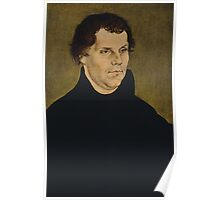 Martin Luther Painting Poster
