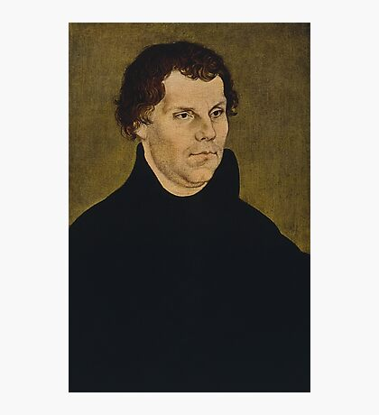 Martin Luther Painting Photographic Print