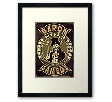 Baron Samedi Vintage Framed Print