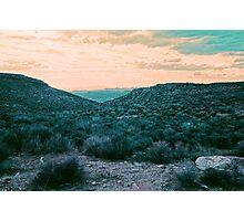 Utah Sunset Photographic Print