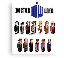 13 Pixel Doctors Canvas Print