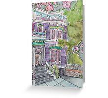 San Francisco Houses #9 Greeting Card