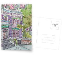 San Francisco Houses #9 Postcards