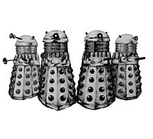 Exterminate ! -Gray Photographic Print