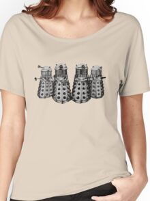 Exterminate ! -Gray Women's Relaxed Fit T-Shirt