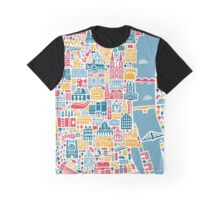 Cologne City Map Poster Graphic T-Shirt
