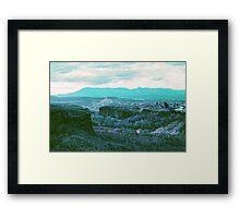 Utah Overlook Framed Print