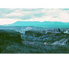 Utah Overlook Photographic Print