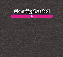Come&getwasted – Literally Translated Metro Map Station Unisex T-Shirt