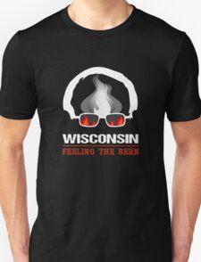 Wisconsin Feeling The Bern Unisex T-Shirt