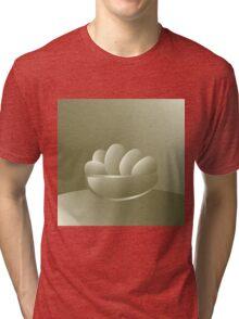 Golden Easter eggs Tri-blend T-Shirt