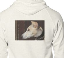 A Lurcher Called Amber Zipped Hoodie