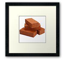 Bricks Framed Print