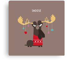 Snoose Canvas Print