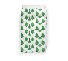 Pixel Trees Duvet Cover