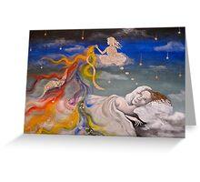 Artist's Insomnia Greeting Card
